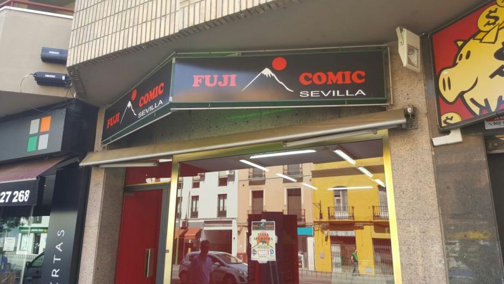 Instalación Rótulo Fuji Comic